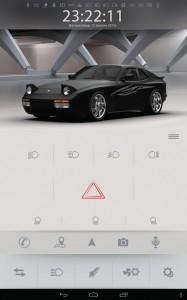 Электромобиль Porsche переобоурдование экран 4